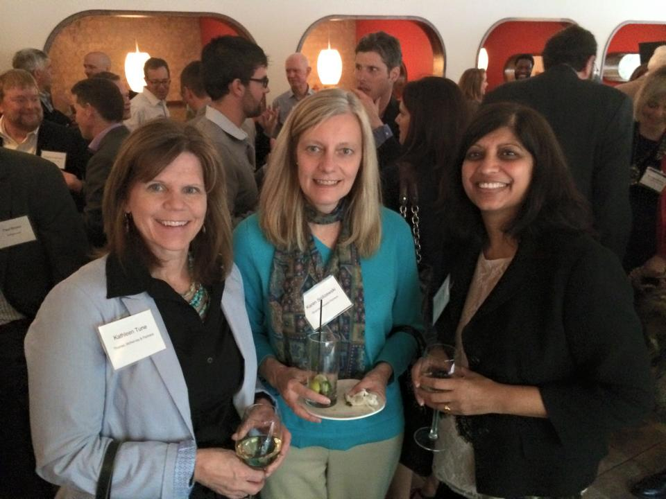 Kathleen Tune (Thomas, McNearny &  Partners), Karen Spilizewski, Mina Sooch (Apjohn)