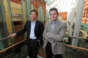 Michigan eLab - Scott Chou, left, and Doug Neal, cofounders of Michigan eLab