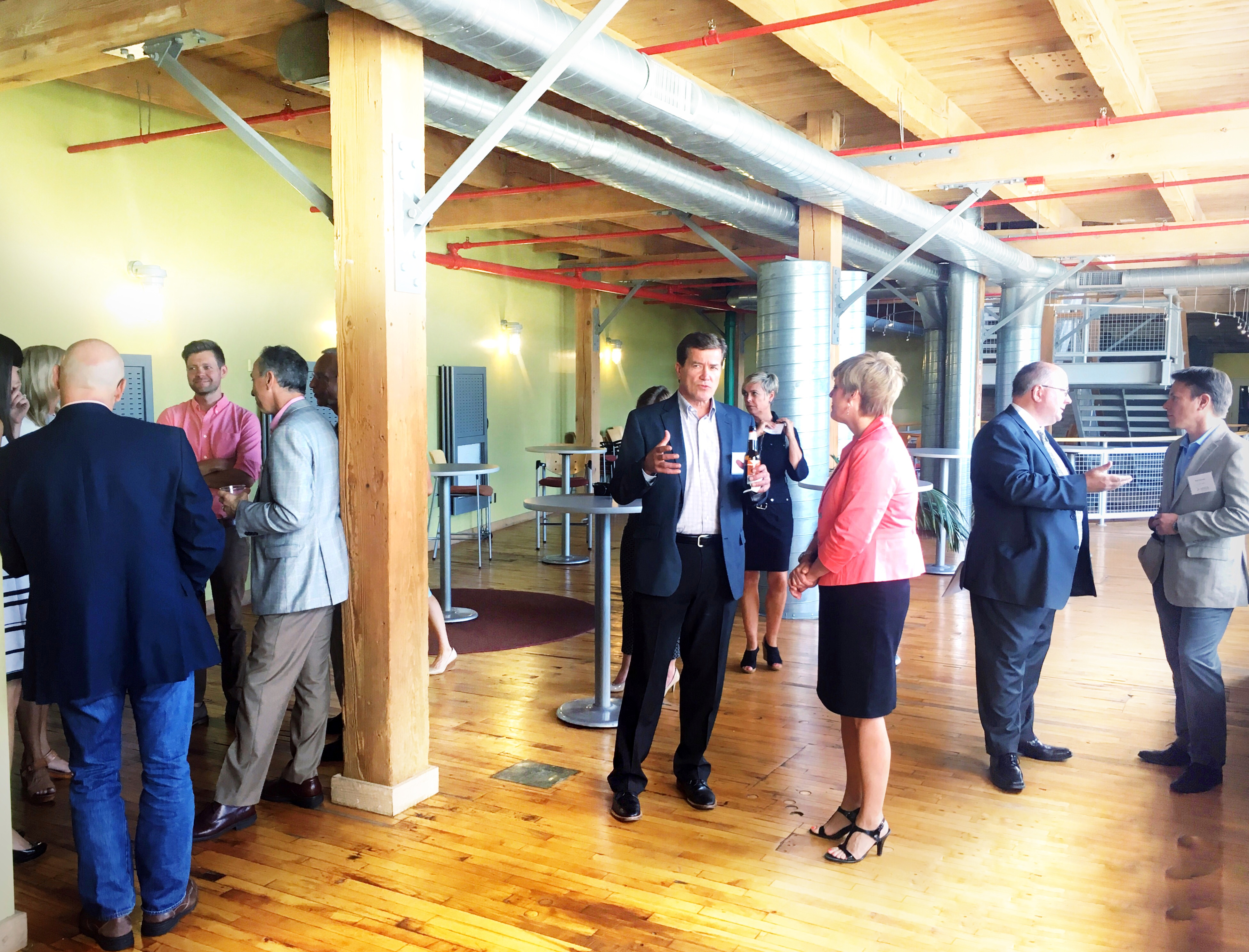 MVCA Investor Only Networking Reception hosted by Lakeshore Advantage.